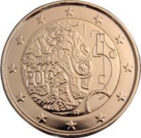 Suomi 2 € 2010 Suomalainen raha 150 vuotta kullattu