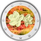 Suomi 2 € 2005 Lakka väritetty UNC