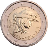Italia 2 € 2016 Donatello