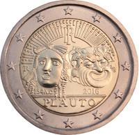 Italia 2 € 2016 Tito Maccio Plauto