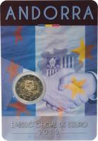 Andorra 2 € 2015 Tullisopimus 25 vuotta BU