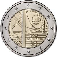 Portugali 2 € 2016  Ponte 25 de Abril- silta 50 v.