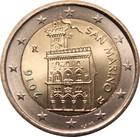 San Marino 2 € 2016 Linnoitus UNC