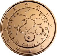 Suomi 2 € 2013 Valtiopäivät 150 vuotta kullattu