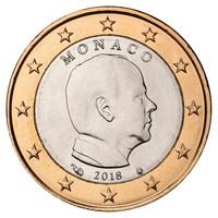 Monaco 1 € 2016 Albert II UNC