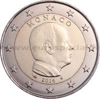Monaco 2 € 2016 Albert II
