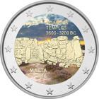 Malta 2 € 2016 Ġgantija väritetty