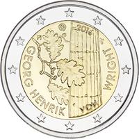 Suomi 2 € 2016 Georg Henrik von Wright