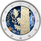 Suomi 2 € 2016 Georg Henrik von Wright väritetty