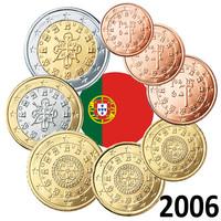 Portugali 1s - 2 € 2006 UNC