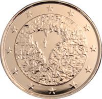 Suomi 2 € 2008 Ihmisoikeuksien julistuksen 60. juhlavuosi kullattu