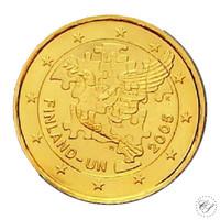 Suomi 2 € 2005 YK 50 vuotta kullattu