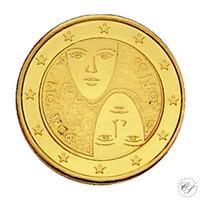 Suomi 2 € 2006 Äänioikeus 100 vuotta kullattu