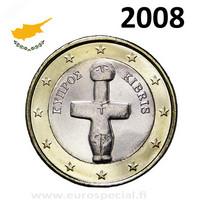 Kypros 1 € 2008 Pomosin Idoli UNC