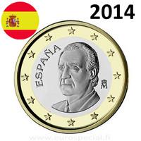 Espanja 1 € 2014 Juan Carlos I UNC