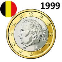 Belgia 1 € 1999 Albert II UNC