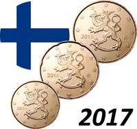 Suomi 10 - 50 senttiä 2017 UNC