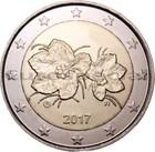 Suomi 2 € 2017 Lakka UNC
