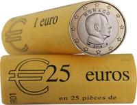 Monaco 1 € 2014 Albert II rulla
