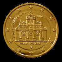 Kreikka 2 € 2016 Arkádi Monastery kullattu