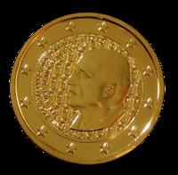 Kreikka 2 € 2016 Dimitri Mitropoulos kullattu