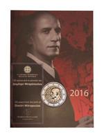 Kreikka 2 € 2016 Dimitri Mitropoulos coincard BU