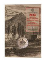 Kreikka 2 € 2016 Arkádi Monastery coincard BU