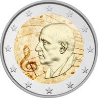 Kreikka 2 € 2016 Dimitri Mitropoulos väritetty