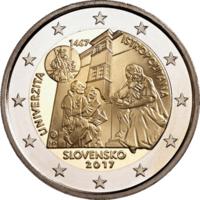 Slovakia 2 € 2017 Universitas Istropolitana