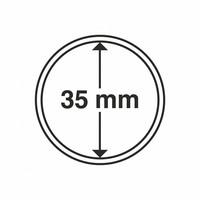 Kolikkokapseli CAPS35 (5 euro) 10 kpl