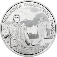 Suomi 10 € 2017 Suomalainen tango Ag Proof
