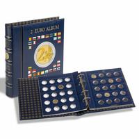 Leuchtturm Optima- kolikkokansio 2 euron kolikoille