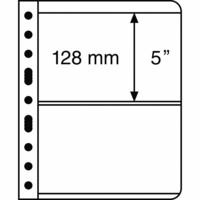 Leuchtturm Vario 2S- välilehti, 5-pack, musta tausta
