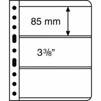 Leuchtturm Vario 3S- välilehti, 5-pack, musta tausta
