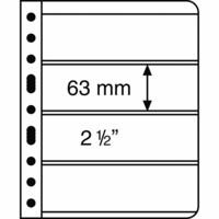 Leuchtturm Vario 4S- välilehti, 5-pack, musta tausta