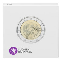 Suomi 2 € 2017 Suomalainen luonto Proof