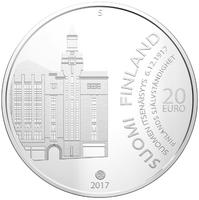 Suomi 20 € 2017 Itsenäisyys 6.12.1917 -juhlaraha Ag, proof