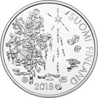 Suomi 10 € 2018 Zacharias Topelius, Proof