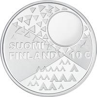 Suomi 10 € 2018 Saamelaiskulttuuri, Proof