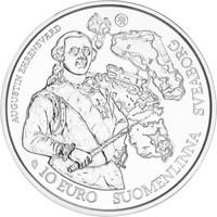Suomi 10 € 2018 Barokki ja rokokoo, Proof
