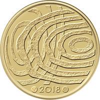 Suomi 100 € 2018 Suomi 100 vuoden kuluttua, numeroitu, Proof