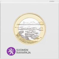 Suomi 5 € 2018 Suomalaiset kansallismaisemat Saaristomeri, Proof