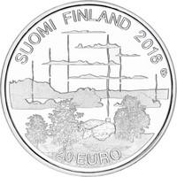 Suomi 20 € 2018 Suomalainen saunakulttuuri, Proof