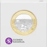 Suomi 5 € 2018 Suomalaiset kansallismaisemat Tammerkoski, Proof