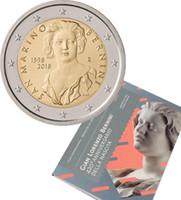 San Marino 2 € 2018 Gian Lorenzo Bernini