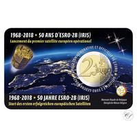 Belgia 2 € 2018 Esro-2B (Iris) BU coincard