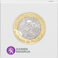 Suomi 5 € 2018 Suomalaiset kansallismaisemat Porvoonjokilaakso, Proof