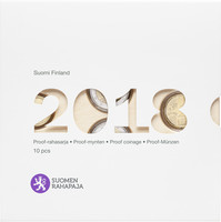Suomi 2018 Proof rahasarja