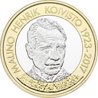 Suomi 5 € 2018 Suomen Presidentit - Mauno Koivisto