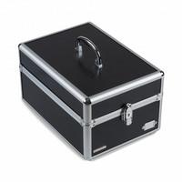 Leuchtturm keräilylaatikko Cargo rahasarjoille, musta/hopea